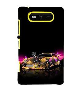 Ebby Premium Printed Mobile Back Case Cover With Full protection For Nokia Lumia 820 / Microsoft Lumia 820 (Designer Case)