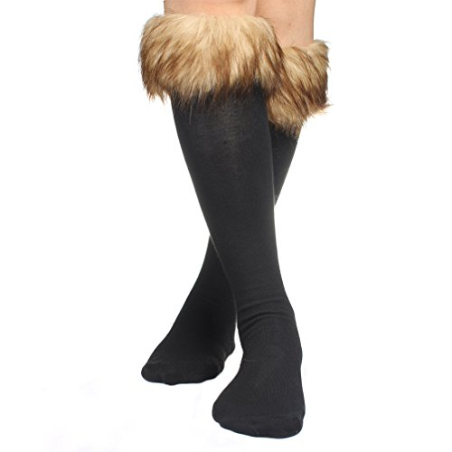 omo-one-pair-women-lady-warm-soft-cozy-fuzzy-fashion-faux-fur-leg-warmers-sock-boots-cuffs-cover-bro