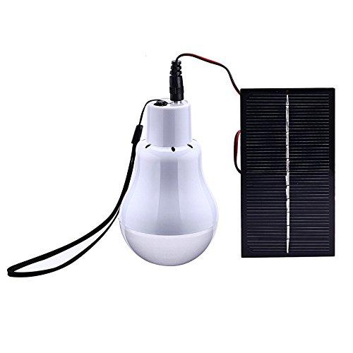 cistwin Solar Power Outdoor/Indoor LED Laterne Licht 1Leuchtmittel Solar Panel Low Night Camping Wasserdicht Lampe nightfair Reise verwendet 5-Betriebszeit cis-57621 -