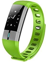 Milnnare Smart Armband Sport Armbanduhr Wasserdichter Herzfrequenz Fitness Tracker - Grün