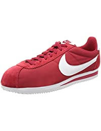 sports shoes dbbc4 d9ea2 NIKE Herren Classic Cortez Nylon Laufschuhe, Rot (Gym Red/Weiß), 42.5