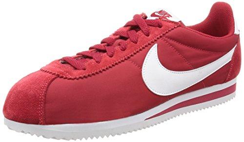 Nike Uomo Basse Multicolore (Rojo / Blanco (Gym Red / White))
