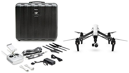 DJI DJIIN1R Inspire 1 Aerial UAV Quadrocopter Drohne mit Integrierter 4K, Full-HD Videokamera, Digitaler Fernsteuerung schwarz/weiß - 9
