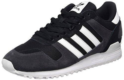adidas Herren ZX 700 Sneaker, Schwarz (Core Black/FTWR White/Utility Black), 42 2/3 EU