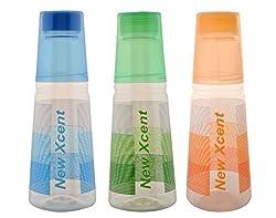 Aarushi Polypropylene Water Bottle Pack of 3 (1000 ml Each)