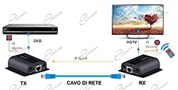 Ocean Matrix 200 1080p HDMI Extender Over Single Cat6 with Looping Out