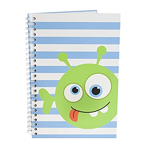 A5 Hardback Notebook Lined Page Ring Bound Note Pad My