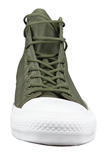 Converse Star Hi Cordura Herren Sneaker Grün Medium Olive Herbal White