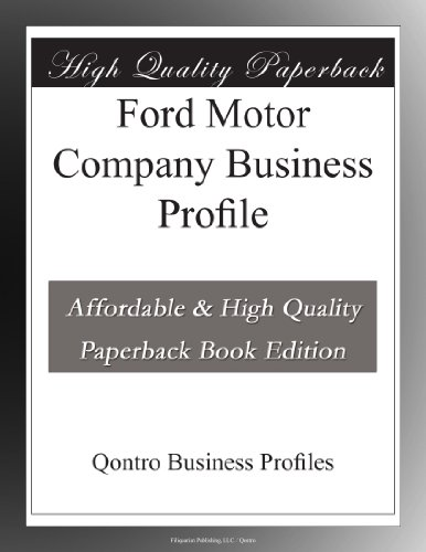 ford-motor-company-business-profile