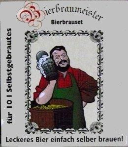 Bierbrauset - für 10 Liter Selbstgebrautes helles Bier