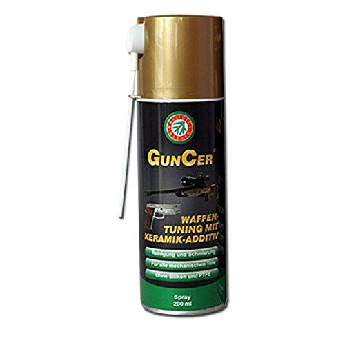 Ballistol Öl für Waffen GunCer mit Keramik-Zusatzstoffe Spray AirSoft, 200 ML