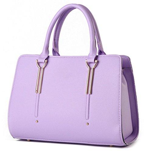 La Signora Borse Di Modo Stereotipi Purple
