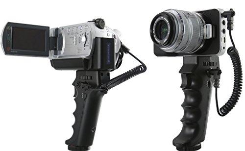 Handgriff (Stativ) / Fernauslöser für Blackmagic Pocket Cinema Kamera BMPCC, sowie Sony Camcorder Modelle mit AV / R , bzw. LANC Anschluss