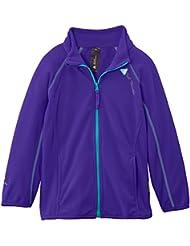 Peak Mountain Fafone/af - Chaqueta de esquí para niña, color morado, talla FR : 3 ans (Talla fabricante : 3)
