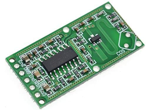 UNIVERSAL-SOLDER SIMPLY. SMARTER. ELECTRONICS. Mikrowellen-Radar-Occupancy-Sensor-Modul - RCWL-0516-Chipsatz - Logic-Level-3.3V Universal-radar