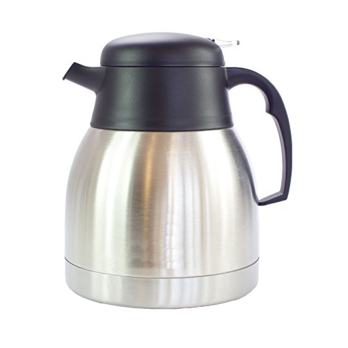 Kaffeekanne Isolierkanne Thermoskanne Teekanne aus Edelstahl Doppelwandig...