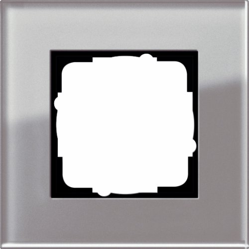 Gira 0211122 Mascherina di copertura 1 modulo Esprit, vetro ombra