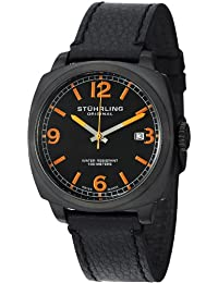 Stuhrling Original Caballero 451.33551 Leisure Eagle Square Swiss Quartz Date Reloj