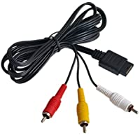 Dcolor AV/TV Video Audio Cable para Sony Playstation 2 3 PS2