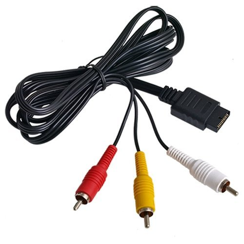 SODIAL(R) AV/TV Video Audio Kabel f. SONY PS2 PS3 auf TVue.8Meter