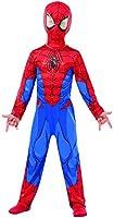 Questo travestimento da Spiderman per bambino é in licenza ufficiale Marvel ed é composto da una tuta ed una maschera. La tuta é di colore rosso e blu e rappresenta quella tipica del supereroe mascherato. La maschera é un passamontagna che co...