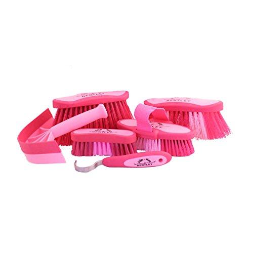 Bentley - Brosses et autres accessoires Slip-Not pour pansage - rose