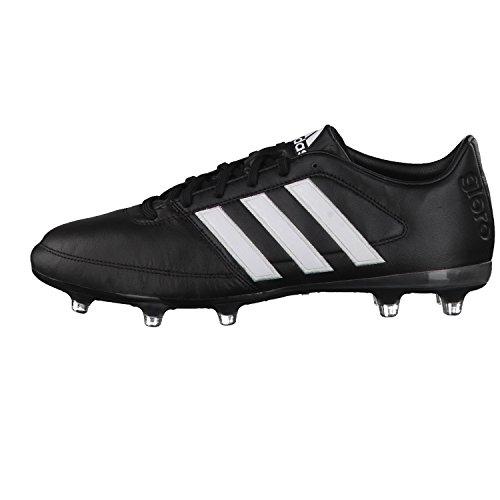 adidas Gloro 16.1 Fg, Chaussures de Football Compétition Mixte Adulte Noir (Negbas / Ftwbla / Plamat)