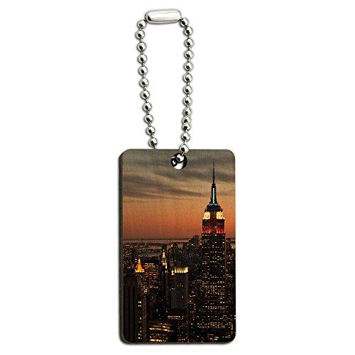 skyline-de-new-york-city-de-nuit-motif-empire-state-building-porte-cles-rectangulaire-en-bois