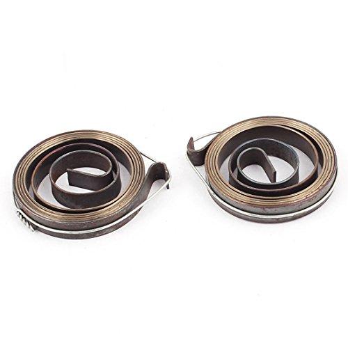 36 x 6 mm Bohrmaschine Pinolenvorschub Return Fahrwerksfeder Bronze Tone 2 Stück