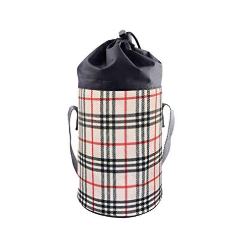 Isolierte Flasche Tasche, Warm oder kühl halten Tasche mit Aufhängegurt, Leicht Wasserflasche für Milch, und Sportgetränk