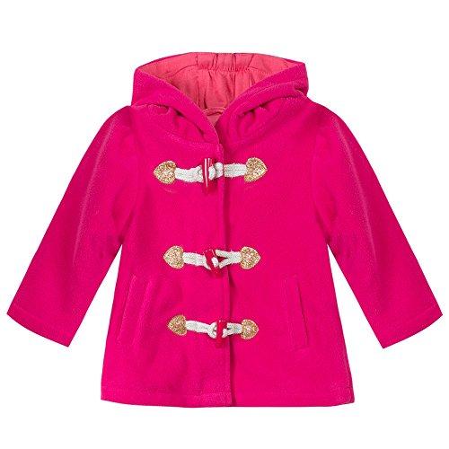 Esprit Kids Baby-Mädchen Mantel RI4401B, Rosa (Pink 660), 92