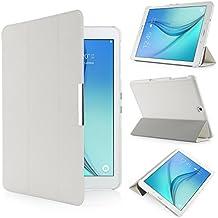 iHarbort® Samsung Galaxy Tab S2 9.7 Funda - ultra delgado ligero Funda de piel de cuerpo entero para Samsung Galaxy Tab S2 9.7 T810 , con la función del sueño / despierta (Galaxy Tab S2 9.7, blanco)