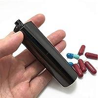 Mini Pille Fall, 3Fächer Wasserdicht Pille Veranstalter Wasserdicht Schlüsselanhänger Medizin Box für Reisen preisvergleich bei billige-tabletten.eu