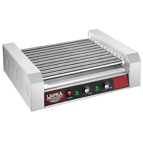 Great Northern Commercial Quality 30 Hot Dog 11 Roller Grilling Machine 2200W by Great Northern Popcorn