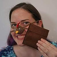 Aunt Marty's Nose Warmers Brown-Huhn-Nasen-Wärmer mit Pouch preisvergleich bei billige-tabletten.eu