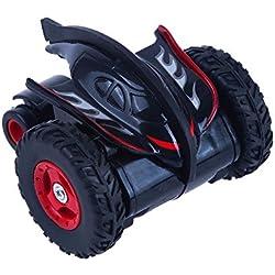 Juguetrónica Mad Racers Spinner, Coche Alta Velocidad acrobático Color Verde y Rojo JUG0291