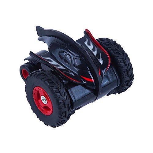 Juguetrónica - Mad Racers Spinner, coche alta velocidad acrobático, color verde y rojo (JUG0291)