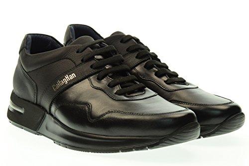 CallagHan 91300 Sneakers Uomo Pelle NEGRO NEGRO 44