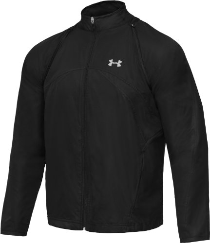 Under Armour Draft (Under Armour Draft Convertible Jacket Herren Multisport schwarz, Graphit S Noir, Graphite)