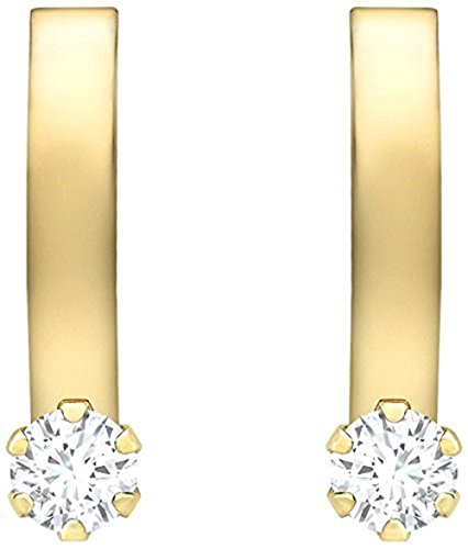 Carissima Gold Orecchini Donna  9 carati  Oro giallo    trasparente Ossido di zirconio