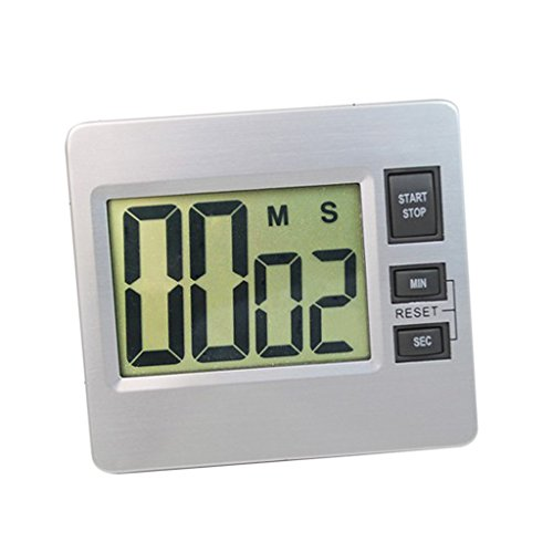 D DOLITY 86 x 20 x 76 mm Reloj Digital Temporizador Electrónico, Pantalla de LCD