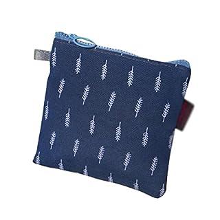 Demarkt Damenbinde Paket Sanitär Pad Tasche Damenbinden Taschen Dunkelblau 13*13cm