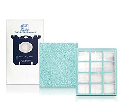 Philips FC8059/01 Performer Active Starter Kit Filtre HEPA + sacs à poussière + filtre moteur anti-allergènes