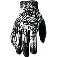 O'Neal Matrix Handschuhe Vandal Schwarz Weiß MX MTB DH Motocross Enduro Offroad, 0388M-4