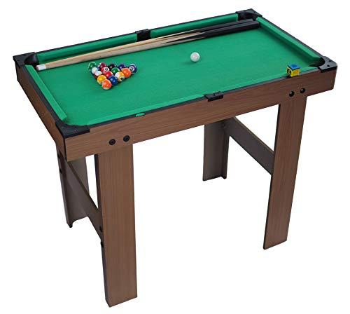 Tao Spielzeug Mesa de Billar portátil de Madera para niños de Gran...