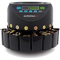 Acropaq cc601–Contamonete e Mailbox di pezzi Moneta Euro–Funzionamento semplice–Vassoi removibili–Nero -  Confronta prezzi e modelli