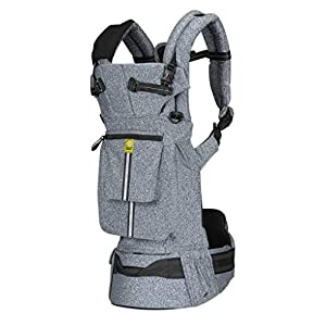 LÍLLÉbaby  Complete Pursuit Pro 6-in-1 Baby Carrier Heathered, Grey   13