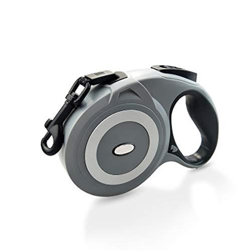 Prosa Roll-Leine einziehbare Hundeleine 5m/8M,Rollleinen für Hunde Gurt für Kleine,Mittlere und große Hunde bis max 50KG/80KG Neon Soft Shell