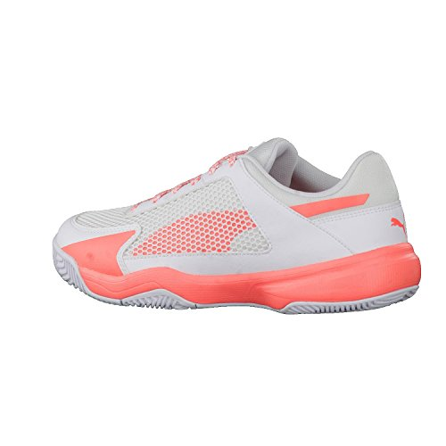 Puma Evospeed Indoor Nf 5, Chaussures de Fitness Femme Blanc (White-nrgy Peach)
