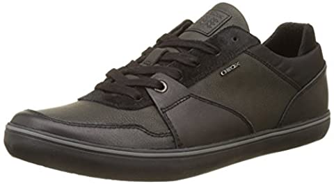Geox Herren U Box A Sneaker, Schwarz (Black), 42 EU